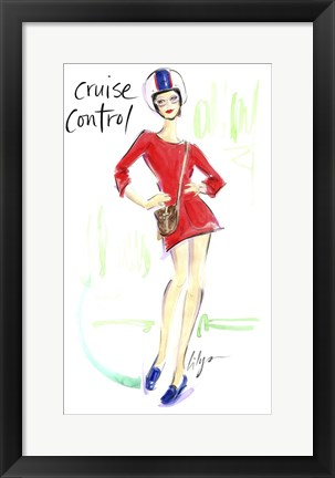 Framed Cruise Control Print