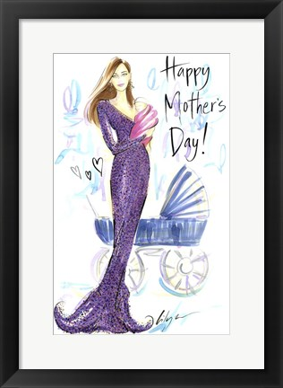 Framed Happy Mother's Day Print