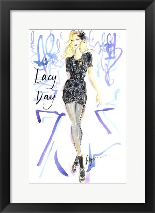 Framed Lacy Day Print