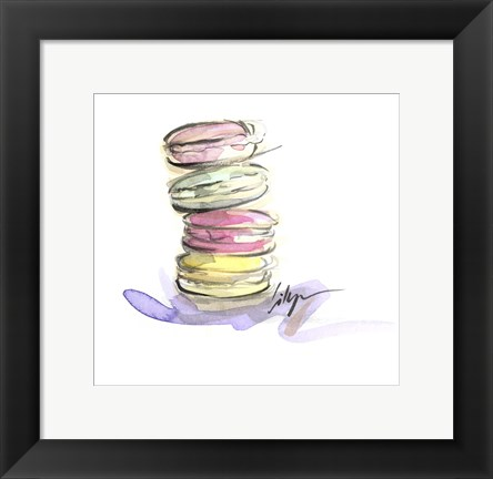 Framed Macaroon Delight Print