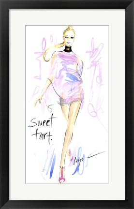 Framed Sweet Tart Print