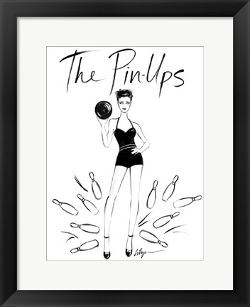Framed Pin Ups Print