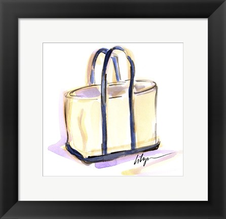 Framed Tote Around Print
