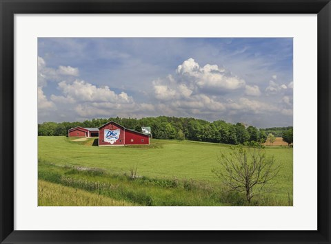 Framed Ohio Farm Print