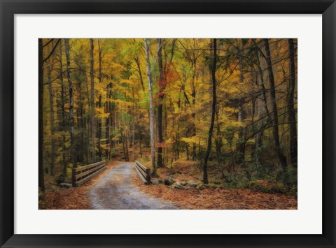 Framed Greenbrier Path Print