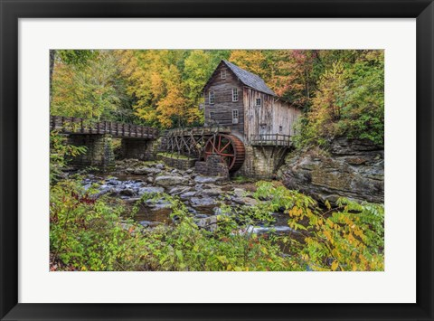Framed Grist Mill Fall 2013 1 Print