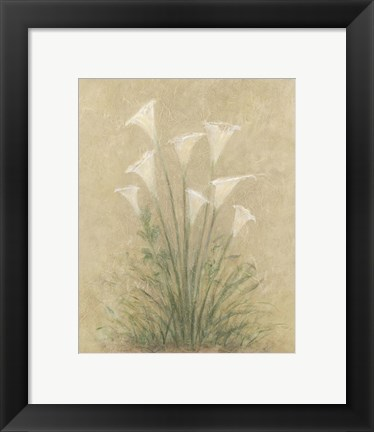 Framed Calla Lilly Print