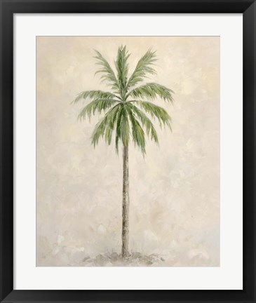 Framed Palm Tree 1 Print