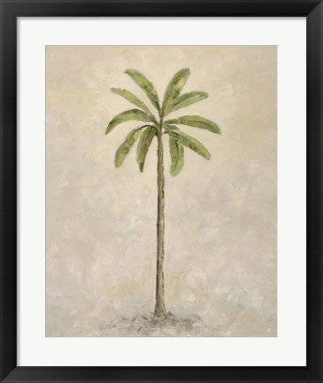 Framed Palm Tree 2 Print