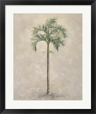 Framed Palm Tree 4 Print