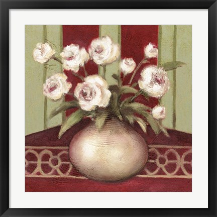 Framed Ragtime Rose Print