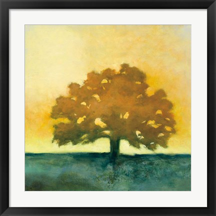 Framed Under the Oak II Print