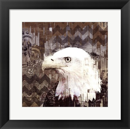 Framed Call Of The Eagle Print