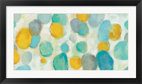 Framed Painted Pebbles Print