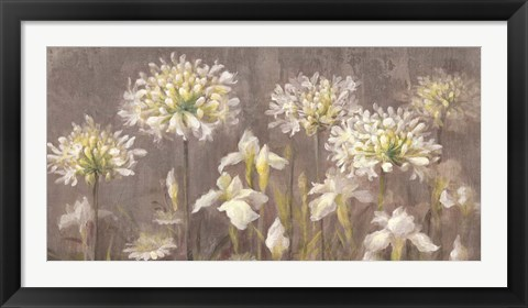 Framed Spring Blossoms Neutral II Print
