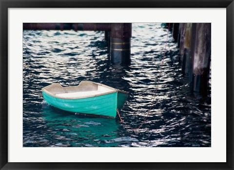 Framed Rowboat II Print