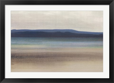 Framed Peaceful Beach Print