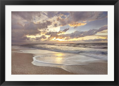 Framed Beautiful Seascape Print