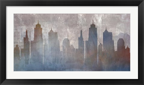 Framed Urban Reflections Print