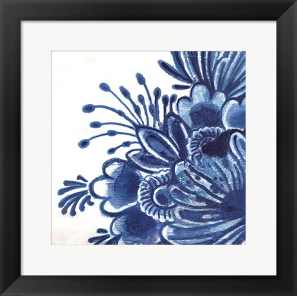 Framed Delft Design I Print