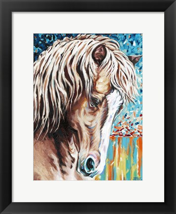 Framed Wild at Heart II Print