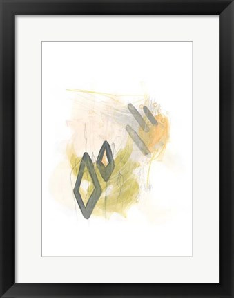 Framed Side Swipe I Print
