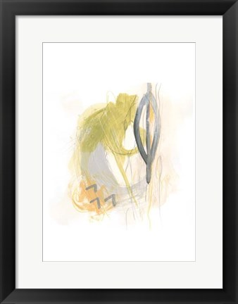 Framed Side Swipe III Print