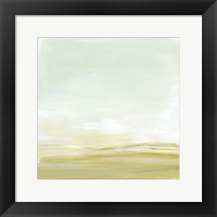 Framed Intangible Horizon I Print