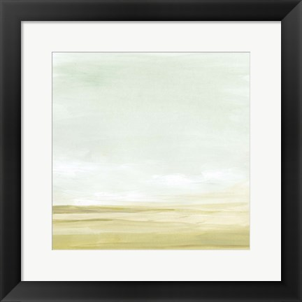 Framed Intangible Horizon II Print
