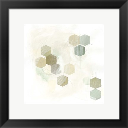Framed Honeycomb Reaction II Print