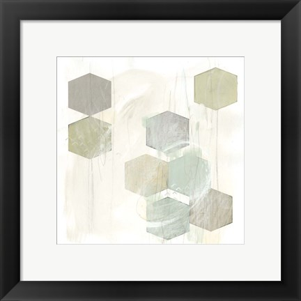 Framed Honeycomb Reaction IV Print