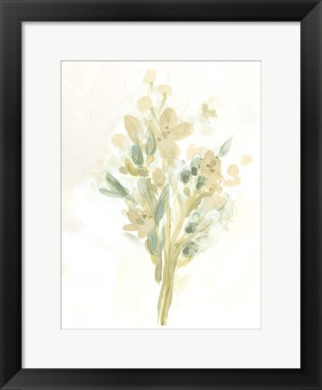 Framed Sagebrush Bouquet II Print