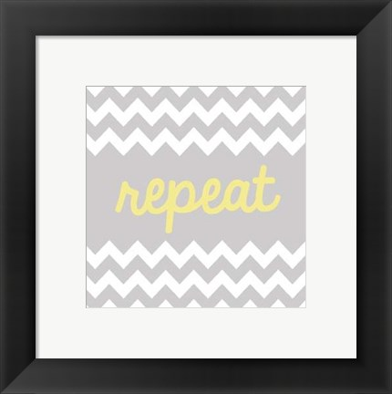 Framed Repeat Print