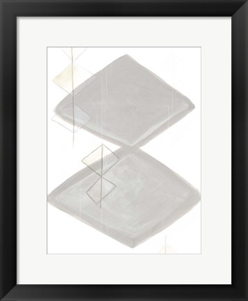 Framed Implied Motif IV Print