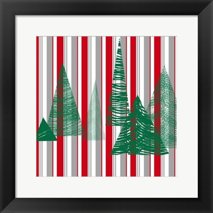 Framed Oh Christmas Tree III Print