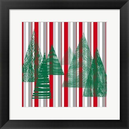 Framed Oh Christmas Tree IV Print