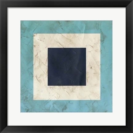 Framed Seaside Signals II Print