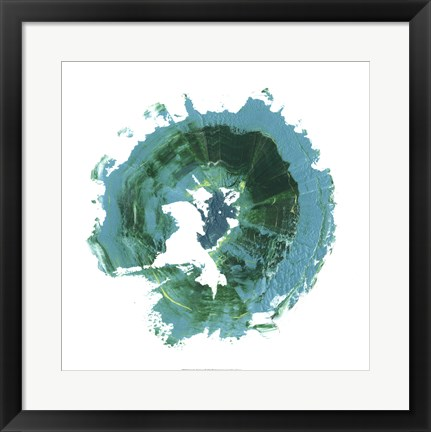 Framed Geode Abstract I Print