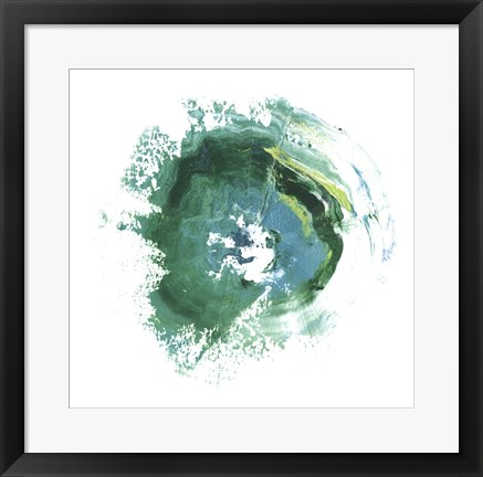 Framed Geode Abstract IV Print