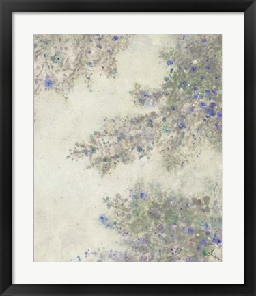 Framed Twig Blossoms II Print