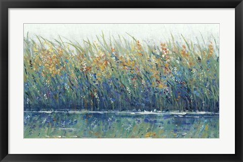 Framed Wildflower Reflection II Print