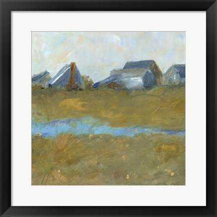 Framed Nantucket Wind II Print