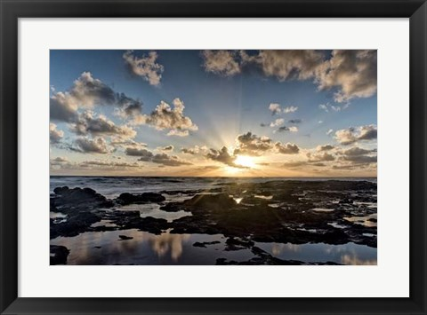 Framed Waipouli Sunrise Print