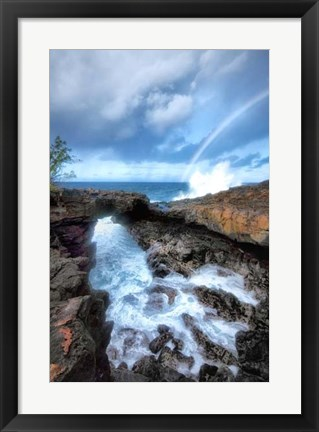 Framed Arch Rock II Print