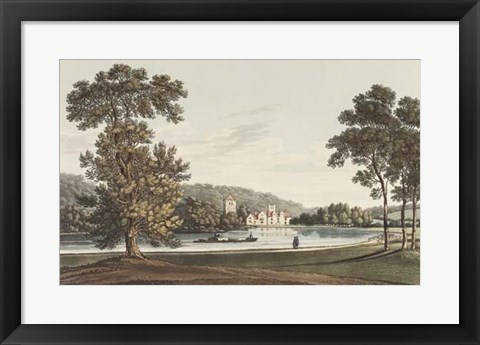 Framed Bisham Abbey Print