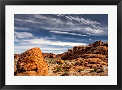 Framed Valley of Fire Print