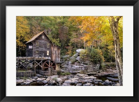 Framed Mill & Creek II Print