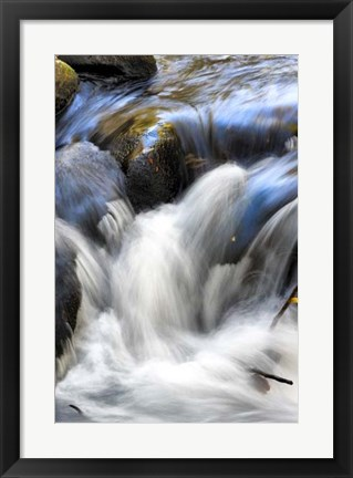Framed Water Abstract II Print