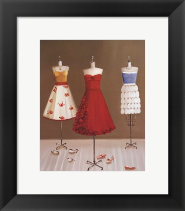 Framed Dressmaking Print