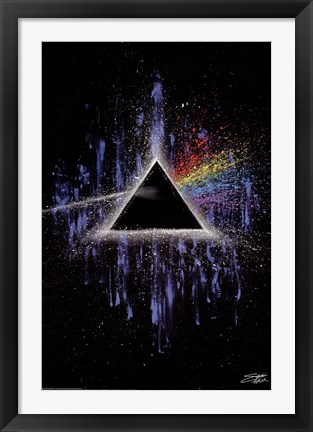 Framed Dark Side of the Moon Print